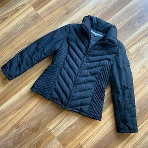 Kenneth Cole Down Black Jacket